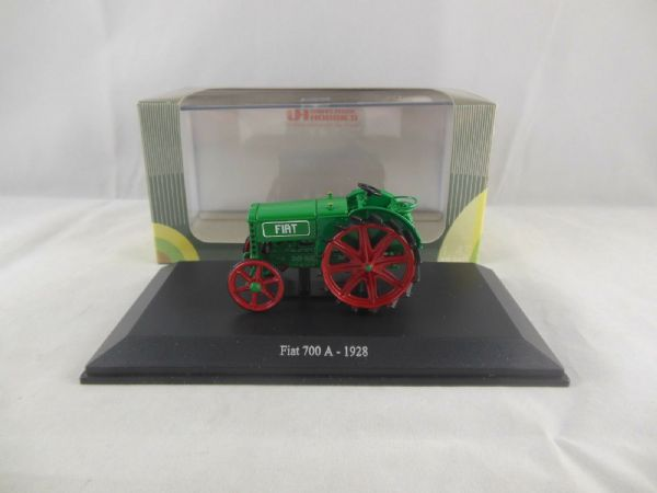 Universal Hobbles UH6046 1/43 Scale Fiat 700A Tractor in Green 1928